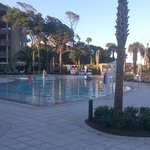 New Pool at the Omni Hilton Head Resort