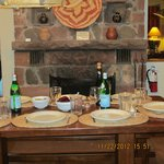 Thanksgiving Table at the Ponderosa