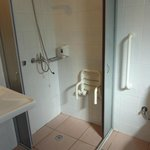 Disabled room shower