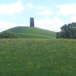view of the Tor on the walk from Old Oaks
