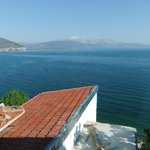 View from our room in Fulya pension