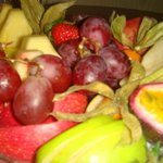 Welcolme fruit platter
