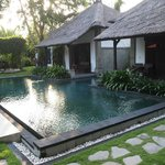 Pool in front of 2 villas