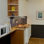 Apartment 90 kitchenette
