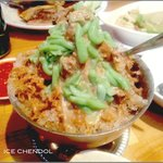 Ice chendol - not as good as Chendol in Malaysia or Singapore