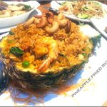 Pineapple fried rice - recommendable