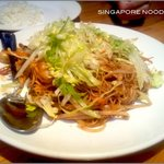 Singapore Noodles-good 4 two people, recommendable