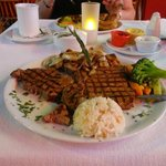 the t bone  23 oz t bone steak melted in your mouth