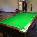Pool and table tennis room