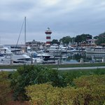 View of the Harbour Town Marina from Cutter Court Condo