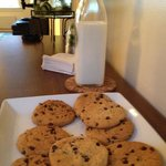 cookies and milk in the afternoon