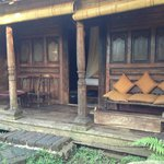 Front of the Udang Hut