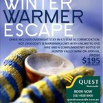 Winter Warmer Escape!