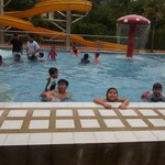 my 4 kids had real fun in the pools....