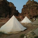 The luxury tents