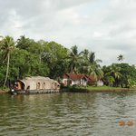 view of Punnamada resort and houseboat