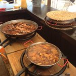 Show cooking de paellas