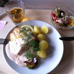 BEST WESTERN Vrigstad - Lunch with salmon