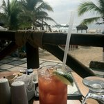 View from Baja Cantina during breakfast, BEST bloody mary's!!