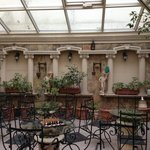 Lovely Garden Atrium at the Hotel Nena, Beautiful and Relaxing!