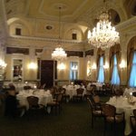 the function room ; Hotel's Grand Past