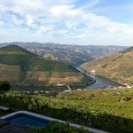 The view of the Douro valley from the hotel terrace