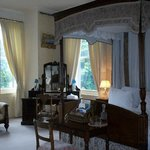 Beautiful Bedroom, comfortable and romantic four poster bed.