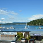 Friday Harbor from the window