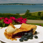 Blueberry Pie at The Chart Room
