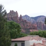 The view from our door at Los Abrigados, Sedona, AZ.
