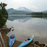 early morning view of Sparks Lake