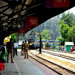 Nilgiri Mountain Railway station at Ooty