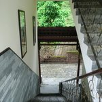 The open stairways/halls