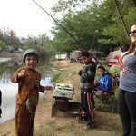 Kid friendly fishing :)