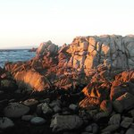 Rocks near Lovers Point on Oceanview Blvd, Pacific Grove, CA
