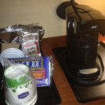 Coffee maker/ snacks