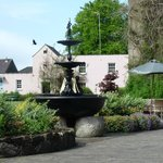 beautiful grounds at the Dunadry Hotel