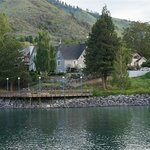 Chelan house from across the lake