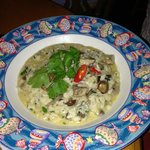 Risotto with wild mushroom and gorgonzola