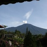 Mt. Slamet. View from the way out of the lobby area.