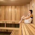 Sauna at the Pool & Fitness Centre