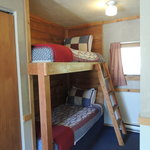 Kids love the bunk beds!