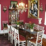 The regal dining room