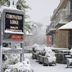 Winter at Coronation Lodge
