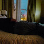Lounging Comfortably: Evening at Hotel deLuxe