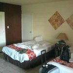 Our room, well air conditioned