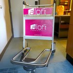 Airport carts for luggage!