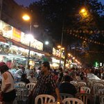 Jalan Alor - a 5 minute walk away - is a mecca for foodies at night
