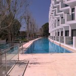rear 50mtr swimming pool