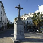 Cross at End of Calle SAn Fernando